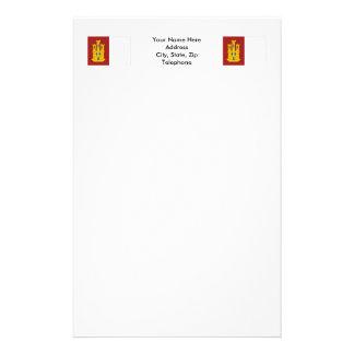Bandera de Mancha del Castilla-La Papeleria De Diseño