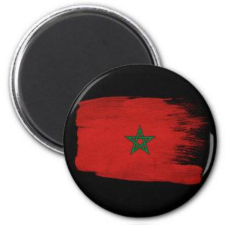 Bandera de Marruecos Imán Redondo 5 Cm