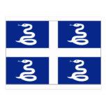 Bandera de Martinica Postal