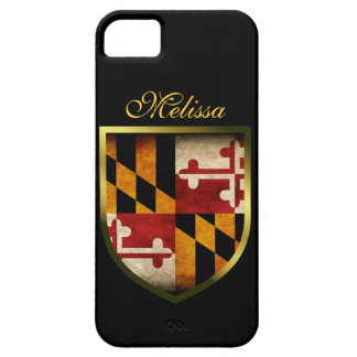 Bandera de Maryland iPhone 5 Case-Mate Cárcasa