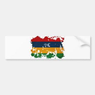 Bandera de Mauricio Pegatina Para Coche