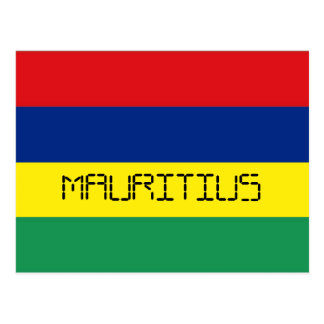 Bandera de Mauricio Postal
