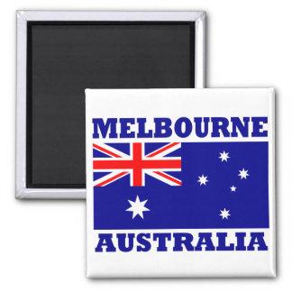 Bandera de Melbourne Australia Imán