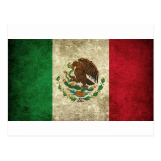 Bandera de México - bandera de México Postal