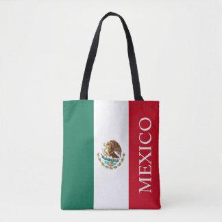 Bandera de México Bolso De Tela