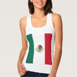 Bandera de México Camiseta Con Tirantes