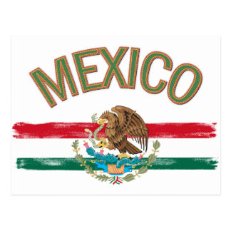 Bandera de México del mexicano Postal