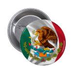 Bandera de México, escudo de armas Pin