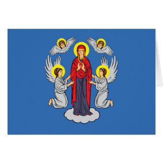Bandera de Minsk, Bielorrusia Tarjeta De Felicitación
