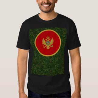 Bandera de Montenegro en hierba Camisas