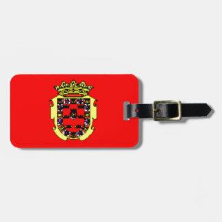 Bandera de Murcia (España) Etiquetas Para Maletas