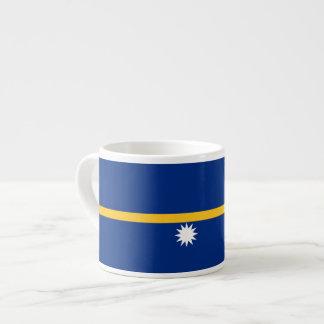 Bandera de Nauru Taza De Espresso