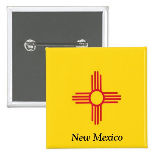 Bandera de New México Pins