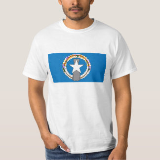 Bandera de Northern Mariana Islands (los E.E.U.U.) Camiseta
