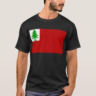 Bandera de Nueva Inglaterra Camiseta
