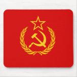 Bandera de nueva URSS, República Democrática del C Tapete De Ratón