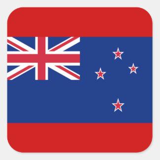 Bandera de Nueva Zelanda Etiquetas