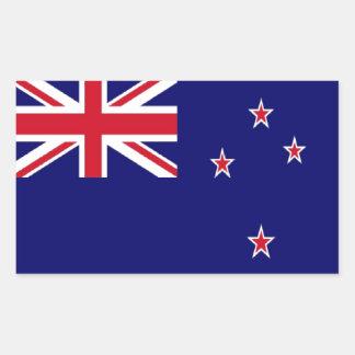 Bandera de Nueva Zelanda Rectangular Pegatinas