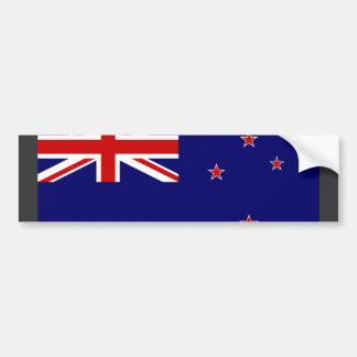 Bandera de Nueva Zelanda Pegatina Para Coche