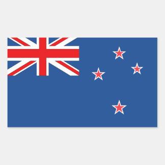 Bandera de Nueva Zelanda Pegatina Rectangular