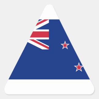 Bandera de Nueva Zelanda Pegatina Triangular