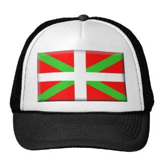 Bandera de Pais Vasco (España) Gorras