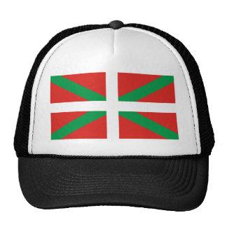 Bandera de Pais Vasco (España) Gorro De Camionero