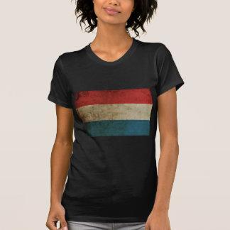 Bandera de Países Bajos del vintage Camiseta