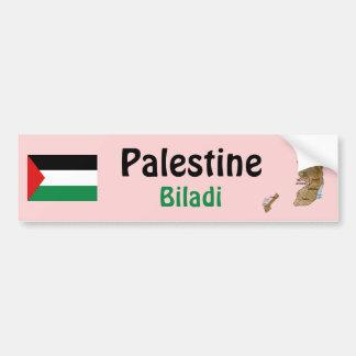 Bandera de Palestina + Pegatina para el parachoque Pegatina Para Coche