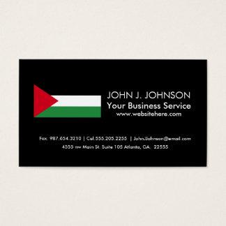 Bandera de Palestina Tarjeta De Negocios