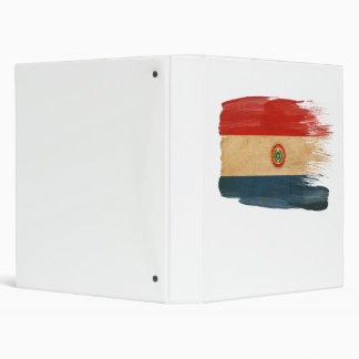 Bandera de Paraguay Carpeta 2,5 Cm