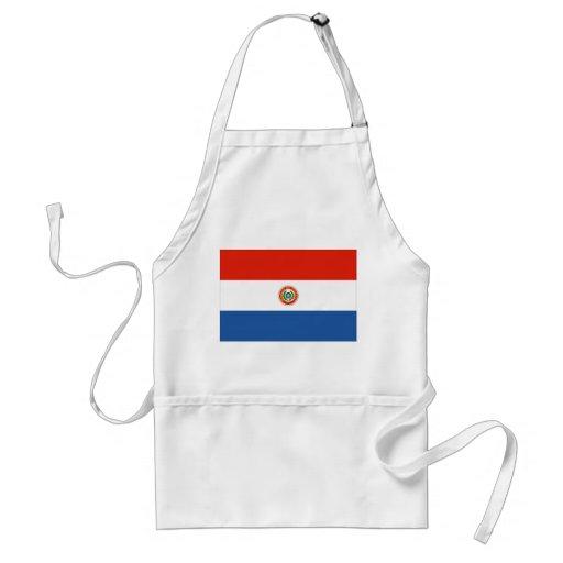 Bandera de Paraguay Delantales