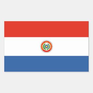 Bandera de Paraguay Pegatina