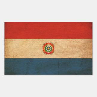 Bandera de Paraguay Rectangular Altavoz