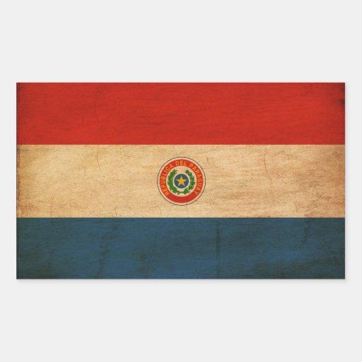 Bandera de Paraguay Pegatinas