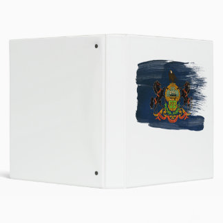 Bandera de Pennsylvania Carpeta 2,5 Cm