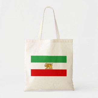 Bandera de Persia/de Irán (1964-1980) Bolso De Tela