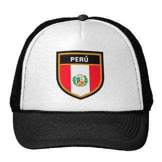 Bandera de Perú Gorras De Camionero