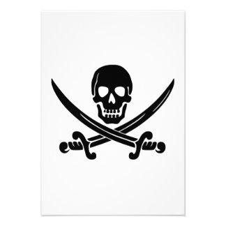 Bandera de pirata anuncio