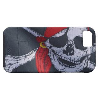 Bandera de pirata iPhone 5 cárcasas