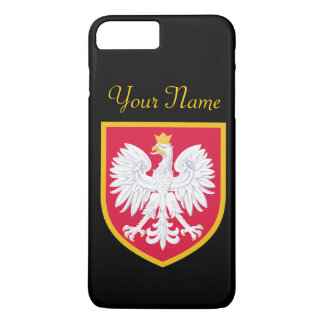 Bandera de Polonia Funda Para iPhone 8 Plus/7 Plus