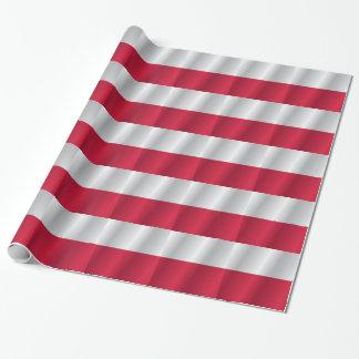 Bandera de Polonia Papel De Regalo