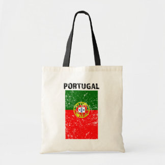 Bandera de Portugal - la bolsa de asas apenada