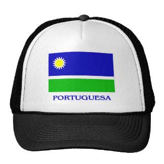 Bandera de Portuguesa con nombre Gorras