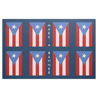 Bandera de Puerto Rico: Decoración Tela