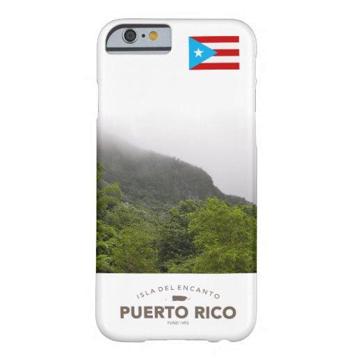 Bandera de Puerto Rico, EL Yunque Funda De iPhone 6 Barely There