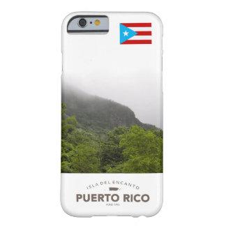Bandera de Puerto Rico, EL Yunque Funda Para iPhone 6 Barely There
