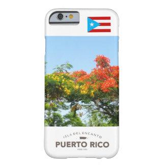 Bandera de Puerto Rico, Flamboyan Funda Para iPhone 6 Barely There
