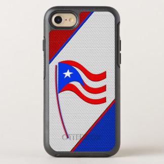 Bandera de Puerto Rico Funda OtterBox Symmetry Para iPhone 8/7