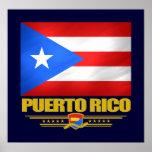 Bandera de Puerto Rico Póster